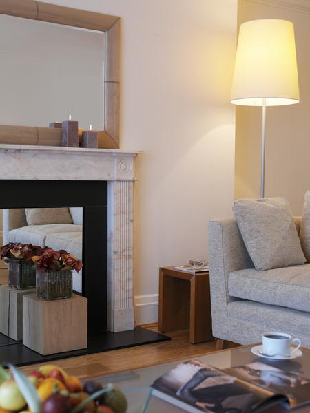 Metropolitan - Fireplace