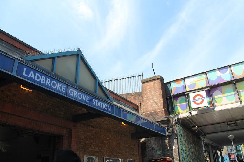 Portobello Square - Ladbroke Grove Underground Station