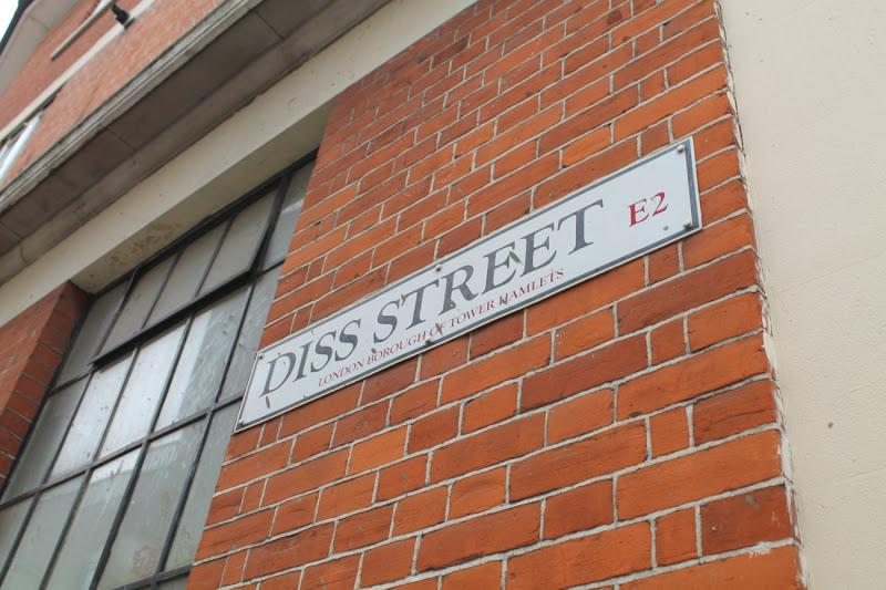 Shoreditch Square - Diss Street