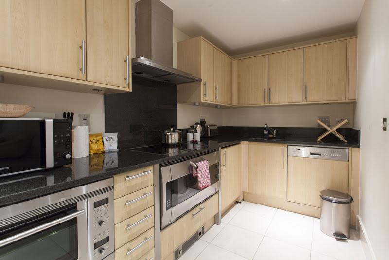 St Georges Wharf - Kitchen