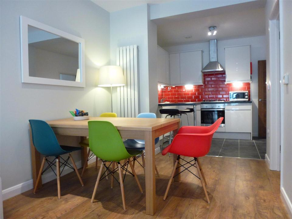 Brook Green Apartments - Kitchen and Dining