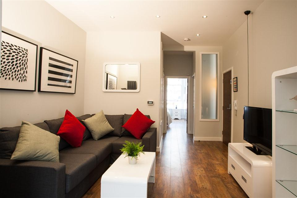 Brook Green Apartments - Living Area