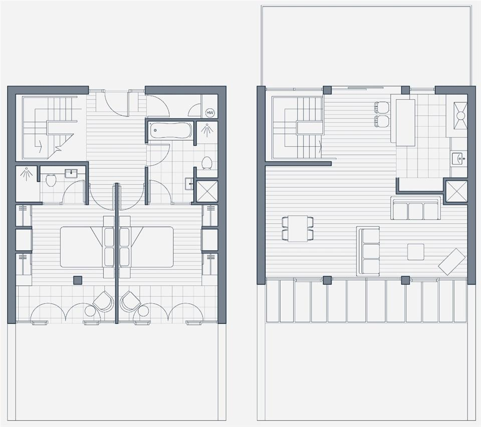 The Place Aparthotel - Penthouse Apartment Floor Plan