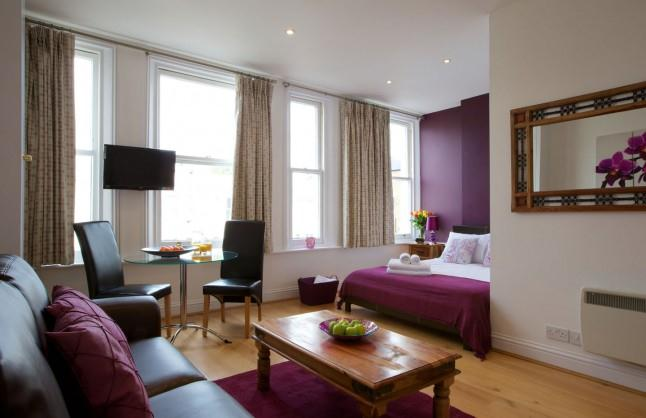 Earls Court Apartments Longridge Road - Studio Apartment