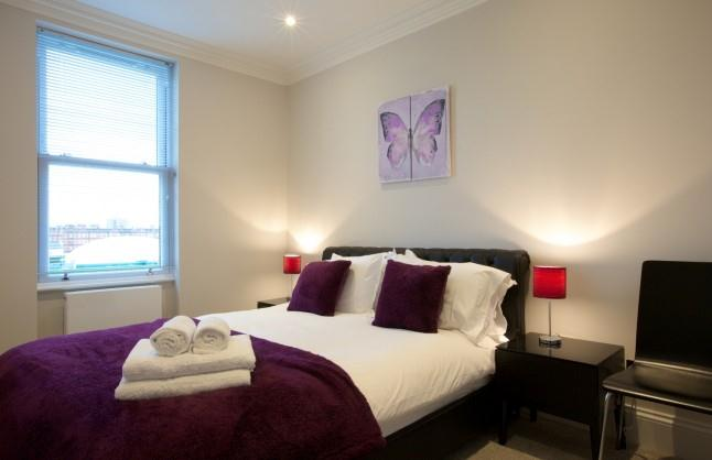 Earls Court Apartments Ongar Road - Bedroom