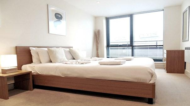 Southwark Executive Apartments - Bedroom