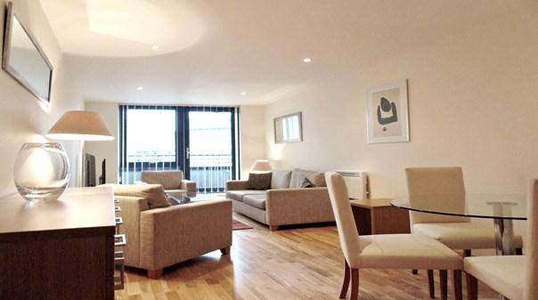 Southwark Executive Apartments - Living Area