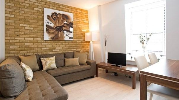 St Pauls Deluxe Apartments - Living Area
