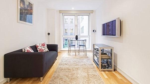St Pauls Executive Apartments - Living Area