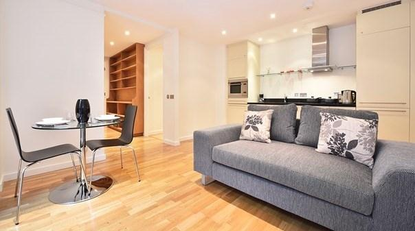 St Pauls Executive Apartments - Living Area