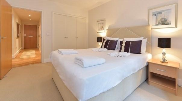Tower Hill Executive Apartments - Bedroom