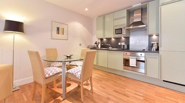 Tower Hill Executive Apartments - Kitchen and Dining Room