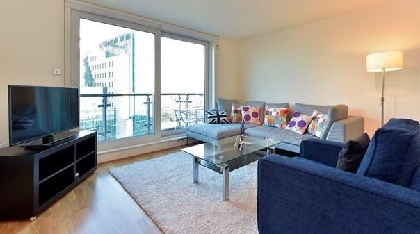 Vauxhall Apartments - Living Room