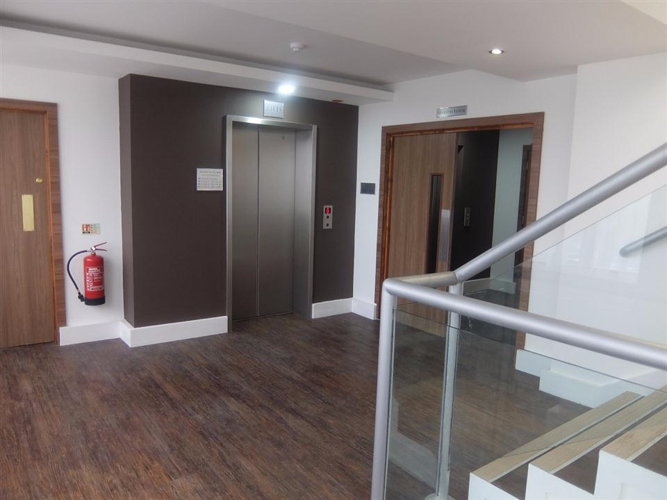 Watford Serviced Apartments - Lifts and Staircase
