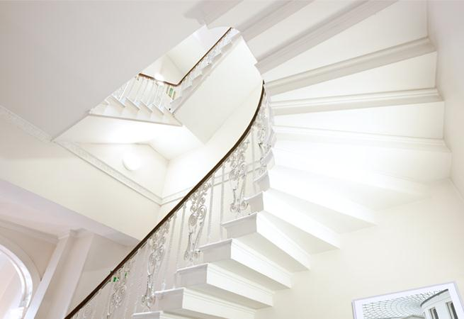 Harley Street House Apartments - Staircase
