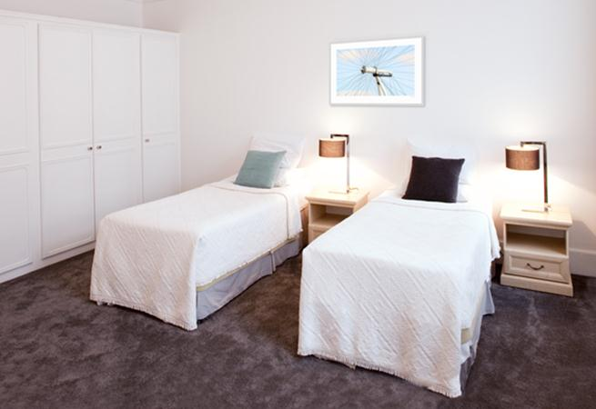 Harley Street House Apartments - Twin Bedroom