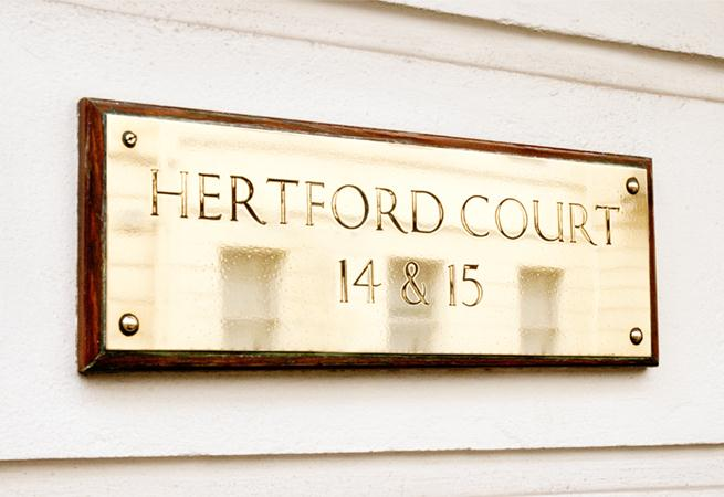 Hertford Court Apartments - Entrance