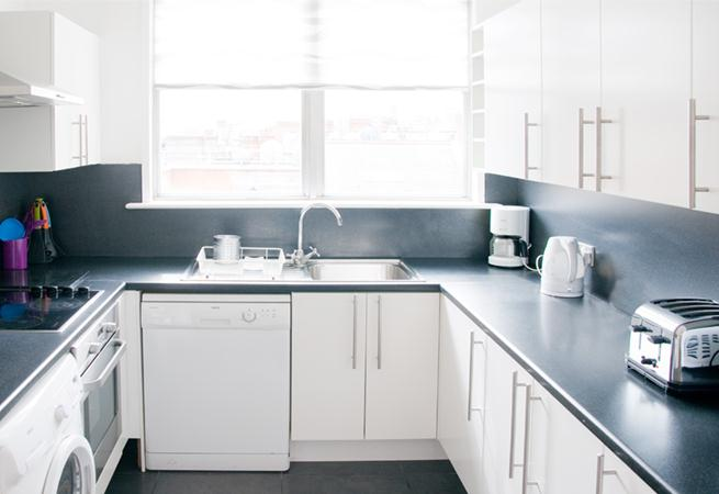 Hertford Court Apartments - Kitchen