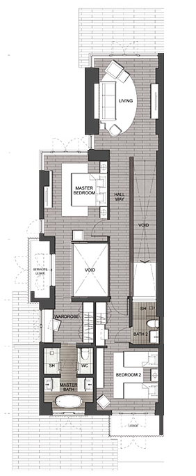 #floorplans Second Floor