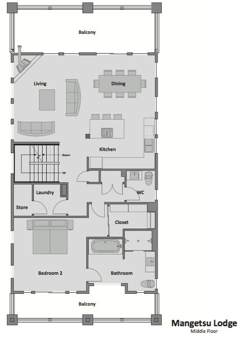 #floorplans Middle Floor
