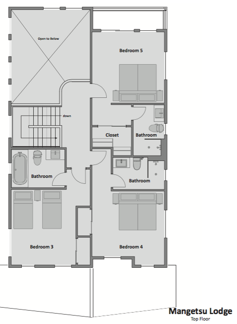 #floorplans Top Floor