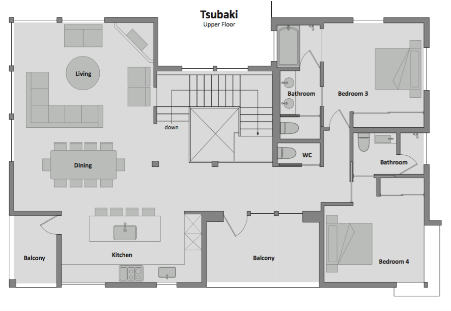 #floorplans Upper Floor