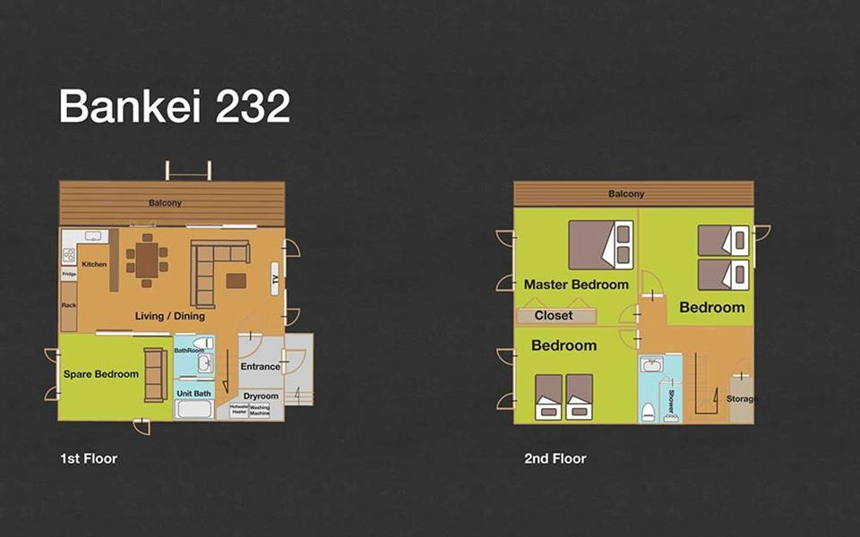 #floorplans 3 Bedroom Bankei 232
