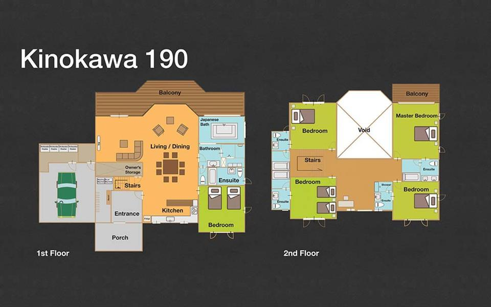 #floorplans 5 Bedroom Kinokaw 190