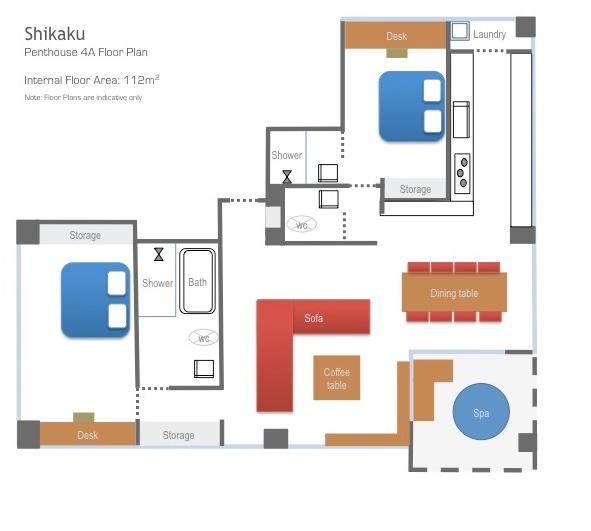 Shikaku Penthouse 4A Floor.png