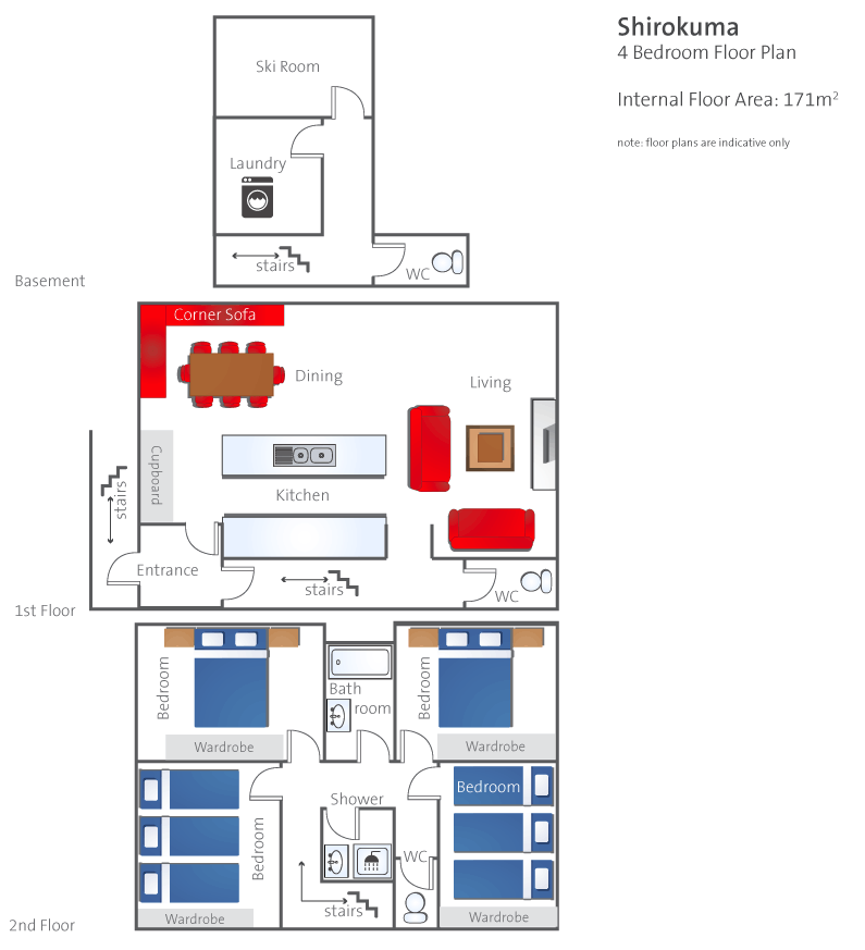 #floorplans 4 Bedroom