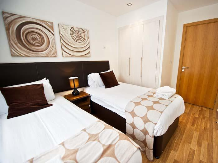 Staycity Serviced Apartments Edinburgh - Twin Bedroom