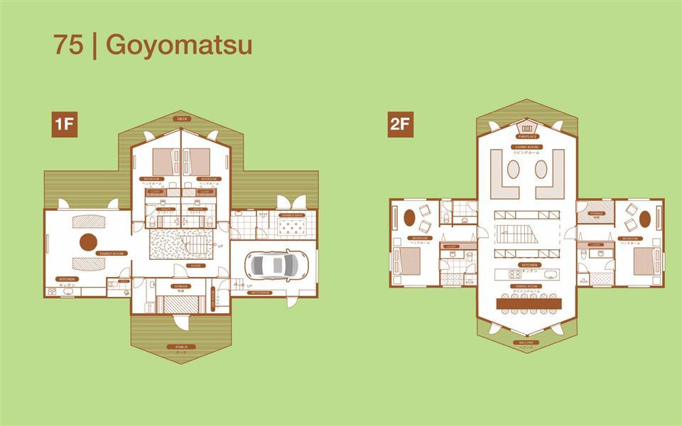 #floorplans 4 Bedroom Goyomatsu