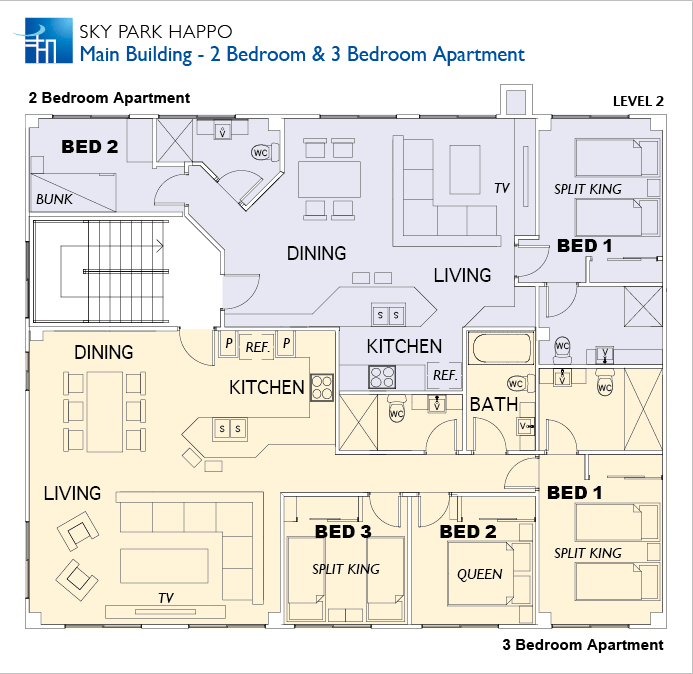 #floorplans 2 Bedroom and 3 Bedroom Apartments