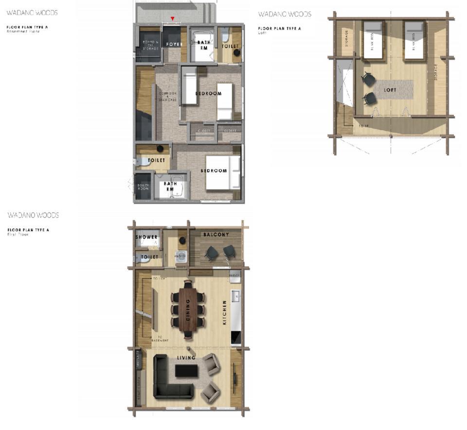 Wadano Woods Chalets 2 Bedroom Plus Loft Chalet.png