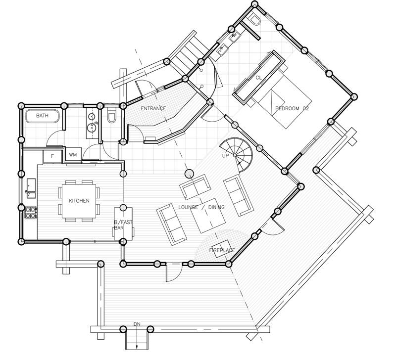 #floorplans 3 Bedroom Chalet 1st Floor