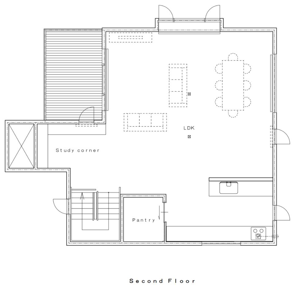 #floorplans Yuzuki 2nd floor