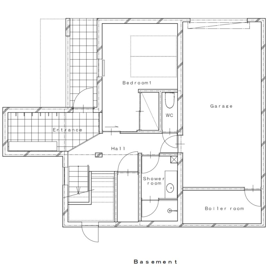 #floorplans Yuzuki basement