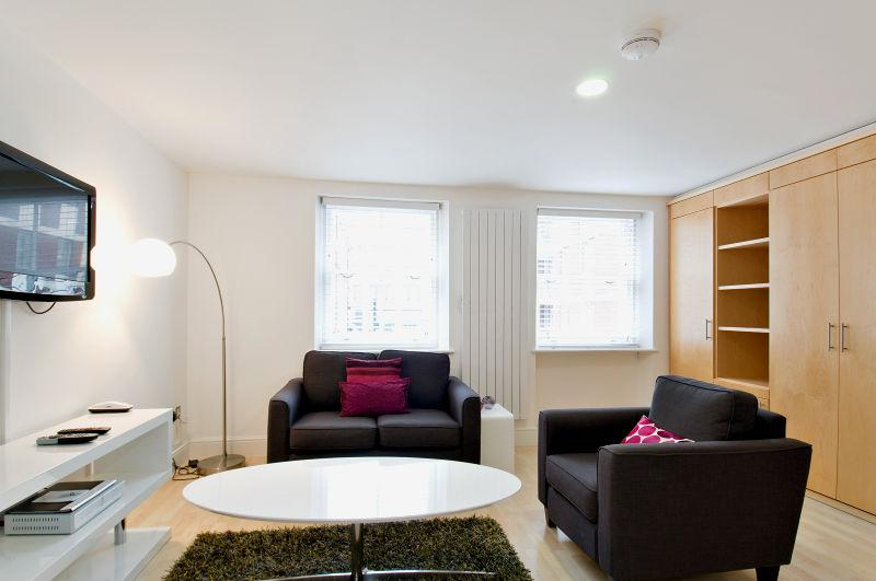 James Street Serviced Apartments - Living area.