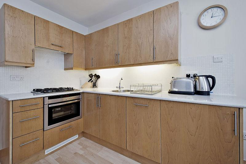 St Christopher's Place - Premium One Bedroom Apartment Kitchen