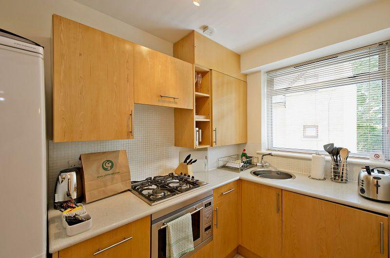 St Christopher's Place - Premium Studio Apartment Kitchen