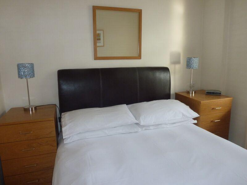 St Christopher's Place - Standard One Bedroom Apartment Bedroom