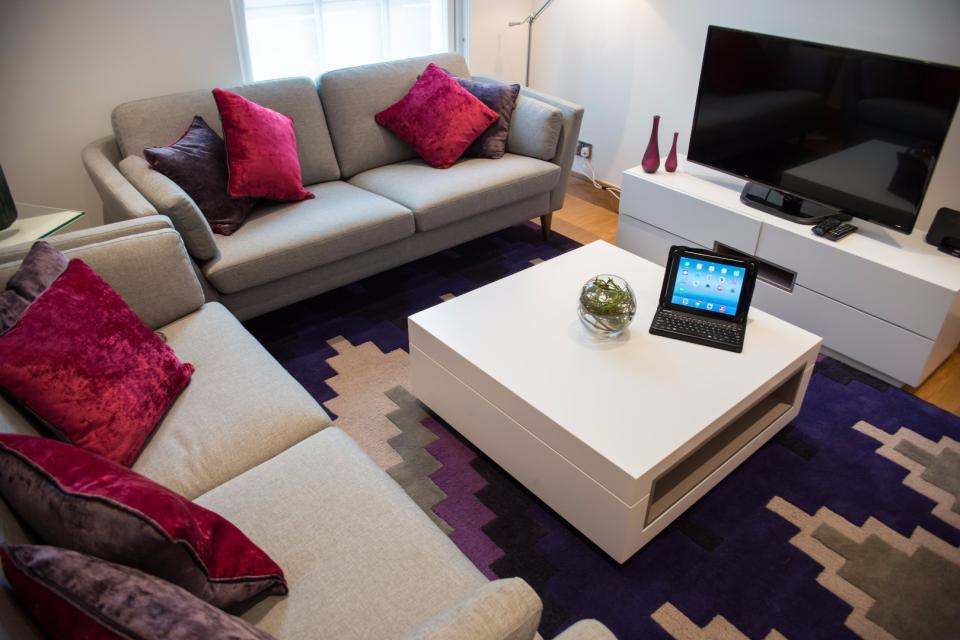 Clarendon Marylebone Apartments - Two Bedroom Two Bathroom Apartment - Living Room