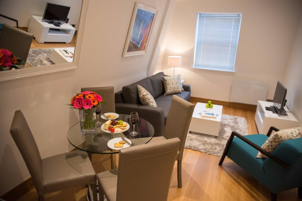 Clarendon Marylebone Apartments - Two Bedroom Apartment - Living Room