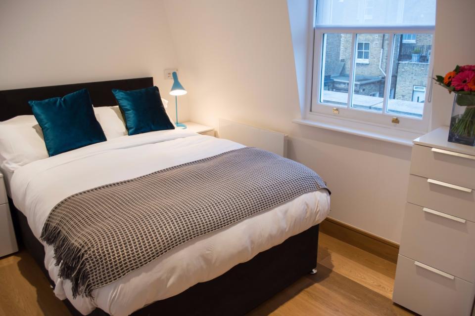 Clarendon Marylebone Apartments - Studio Apartment - Bedroom