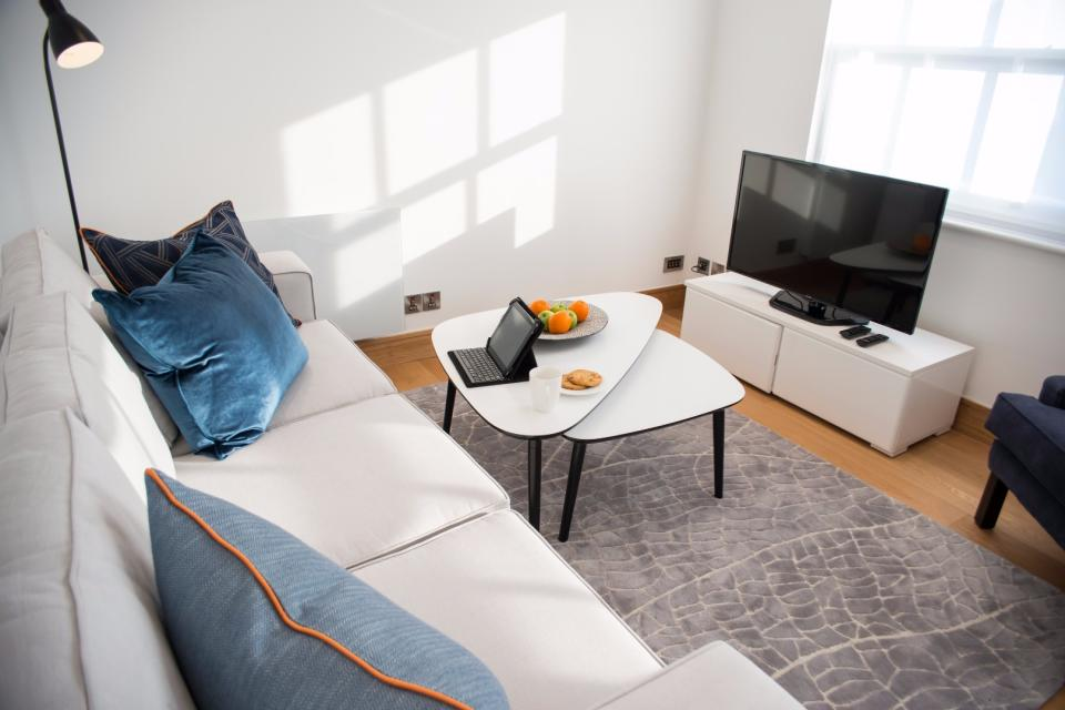 Clarendon Marylebone Apartments - Two Bedroom One Bathroom Apartment - Living Room