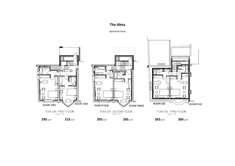 Alma Apartments - Floor Plans