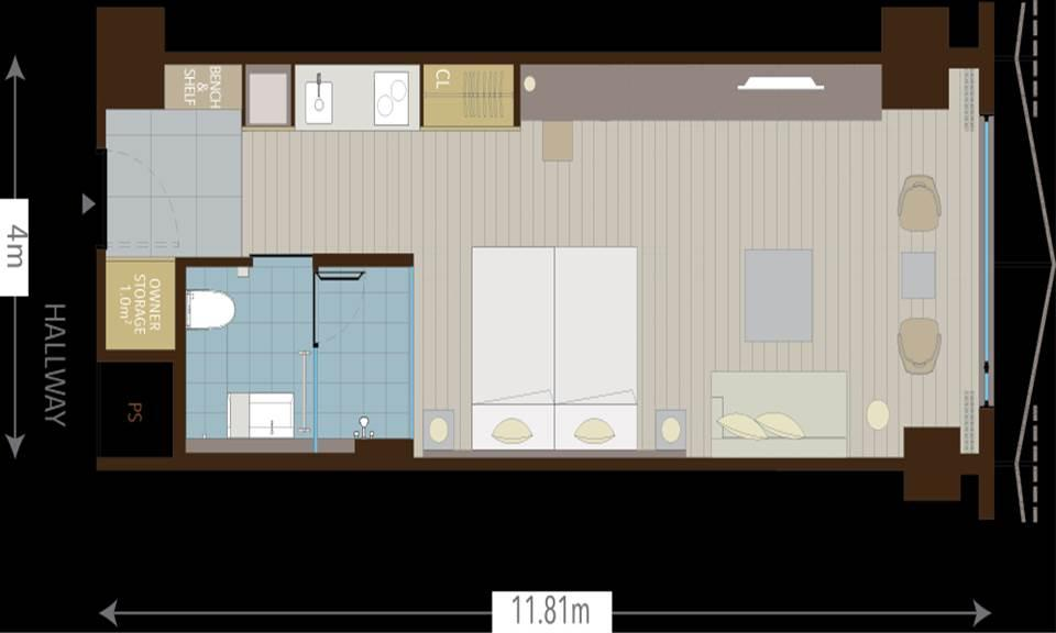 #floorplans Studio