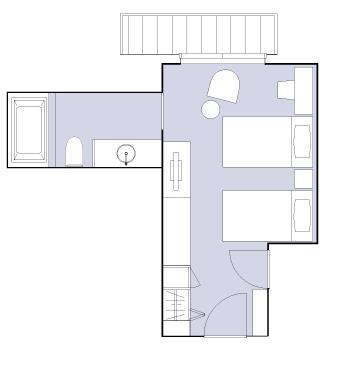 #floorplans Superior Room