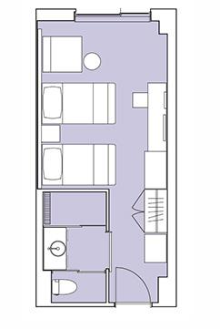 #floorplans Superior Room, Hirafu Mountain View