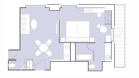 #floorplans Deluxe Suite